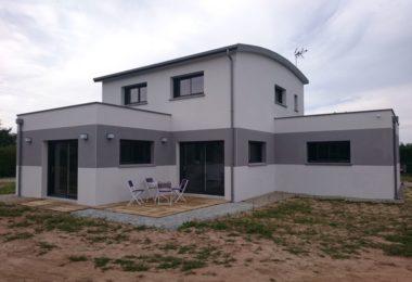 maison contemporaine neuve