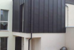 extension parpaing bois
