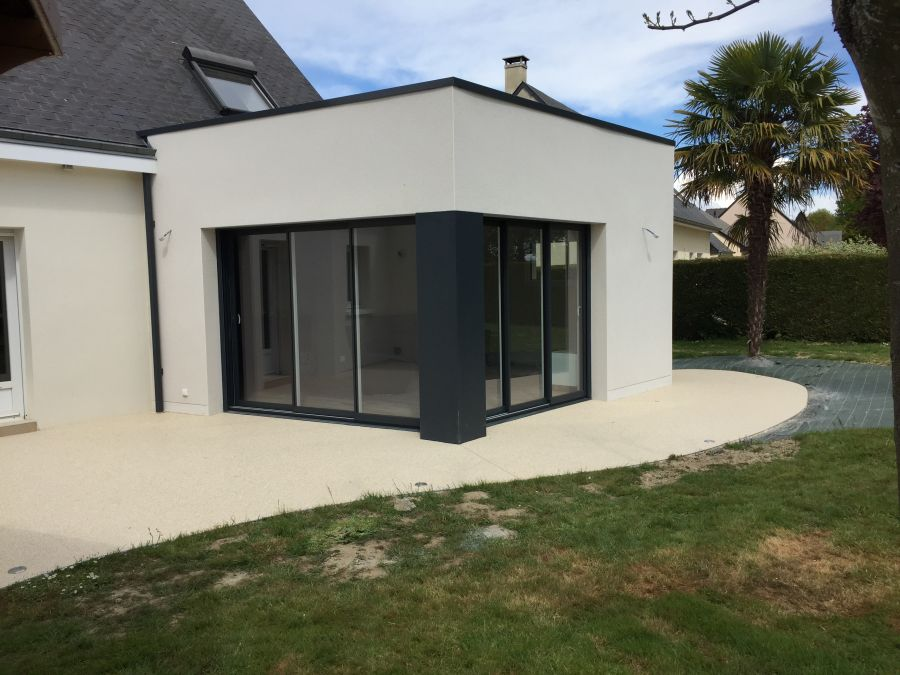 maison extension sejour