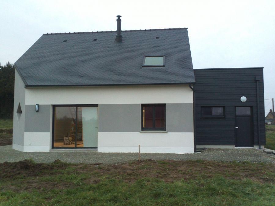 construction maison traditionnelle 2 étages