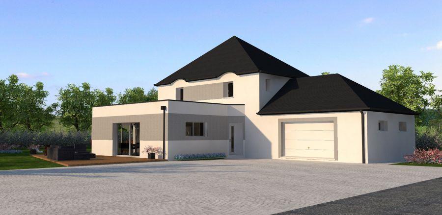 plan 3d maison